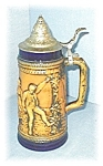 Click here to enlarge image and see more about item 0406200527: STEIN GERZ LIDDED BEER
