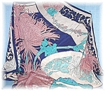 Click to view larger image of SILK SCARF SIGNED GINNIE JOHANSEN (Image1)