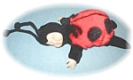 Click here to enlarge image and see more about item 0406200531: ANNE GEDDES SLEEPING LADY BUG