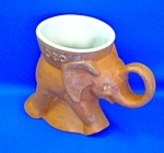 Click to view larger image of 1980 FRANKOMA GOP REPUBLICAN ELEPHANT MUG (Image1)