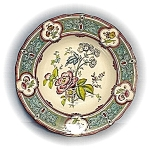 Click here to enlarge image and see more about item 0413200341: Antique English  Ironstone Soup Plates/bowls