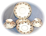 Click here to enlarge image and see more about item 04132003: Bone China Antique 7 Pieces England