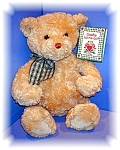 Click to view larger image of Gund Bear 14 Inch Cookie Luv a Lot  (Image1)
