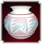 Click to view larger image of  Mexican Pot Signed R Gonza Etched (Image1)