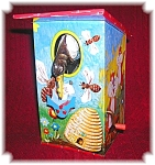 Click here to enlarge image and see more about item 0417200650: BANK - Old Tin West German Bird money bank . . . .