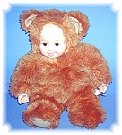 Click to view larger image of Anne Geddes  15 Inch Baby Doll Bear. (Image1)