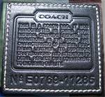 Click to view larger image of COACH handbag - as new (Image3)