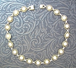 Sterling Silver Balls Vintage 16 inch necklace