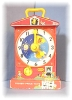 Click to view larger image of Vintage 1962-68 Fisher Price Tell Time Clock (Image2)