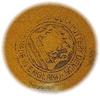 Click to view larger image of English Devon Ware Pottery Motto Mug (Image3)