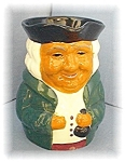 Click here to enlarge image and see more about item 0429200408: Sylvan Staffordshire England Toby Mug