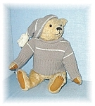 Click here to enlarge image and see more about item 0429200501:  Handmade CHESTER Bear By Linda Foster