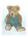 Click here to enlarge image and see more about item 0429200515: 11 Inch Boyds Bearwear Bear
