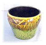 Click here to enlarge image and see more about item 0430200530: Majolica Type Vintage Plant Pot