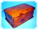Click here to enlarge image and see more about item 0504200601: Vintage Wooden Box