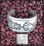 Click to view larger image of TOMMY SINGER Sterling Silver Kokopelli Cuff USA (Image8)