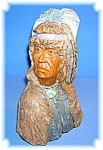 Figurine American Indian Warrior Composite