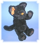 Click here to enlarge image and see more about item 05092006163: Boyds Black Kitty Cat   10 Inch