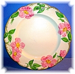 Fransican China Desert Rose Dinner Plate