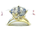 Ring  10K Yellow Gold Oval Citrine