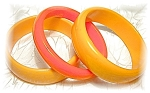 3 Outstanding Bakelite Bangle Bracelets