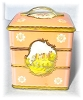 Click to view larger image of Wonderful Pink Tin Container Made In England (Image4)