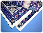 Click here to enlarge image and see more about item 0513200601: BABY QUILT - HAND STITCHED....