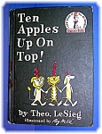 TEN APPLES UP ON TOP, DR. SEUSS. 1961