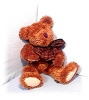 Click to view larger image of BOYDS 16 Inch Chocolate Brown Teddy Bear (Image2)