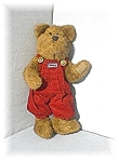 Click here to enlarge image and see more about item 0519200418: BOYDS  Bearwear Bear 12 Inch Med Brown