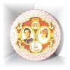 Click to view larger image of Princess Diana Prince Charles commemorative plate (Image2)