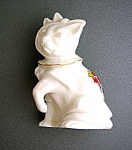 Click here to enlarge image and see more about item 0522200717: Porcelain Cat Torquay England