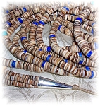 Heishi Beads American Ind Gladys Pacheco Santa Domingo