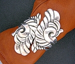 Click to view larger image of VILLASANA  Eagle 3  Sterling Silver Clamper Bracelet (Image1)
