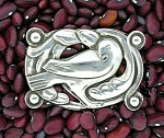 CORO Sterling Silver Norseland Design Bird Brooch