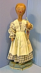 Click here to enlarge image and see more about item 06022008: Folk Art Doll Fairfield La Habra California 20 Inch