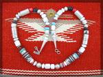 Click to view larger image of TOMMY SINGER White Buffalo Spiney OysterTurquoise Neckl (Image2)