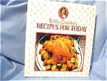 Click here to enlarge image and see more about item 06060309: 1986 Betty Crocker Recipe's For Today