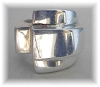 Click to view larger image of Taxco Vintage  Mexican Sterling Silver Ring (Image4)