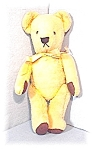 Click here to enlarge image and see more about item 0606200464:  Winnie The Poo Bear Well Loved Wool Vintage