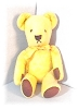 Click to view larger image of  Winnie The Poo Bear Well Loved Wool Vintage (Image2)