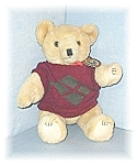 Jointed Golden Teddy Bear Shanghai Doll
