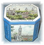 Click here to enlarge image and see more about item 0609200407: English Made London Scenes Toffee Tin