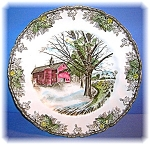 Click to view larger image of Autumn Mists Johnson Bros England Friendly VillagePlate (Image1)