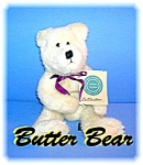 Click here to enlarge image and see more about item 0612200643: Boyds 11 Inch White Butter Bear