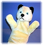 Click to view larger image of White English Hand Puppet called Sweep (Image1)