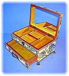 Click to view larger image of Vintage Musical Jewel Box Made in Japan (Image1)
