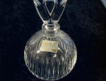 Elegant Crystal Perfume Bottle by Mikasa.