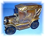 Click here to enlarge image and see more about item 06192006110: BANK - Vintage Metal Montbello Colorado Car Money Bank
