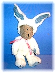 Click here to enlarge image and see more about item 0619200614: Boyds Tan and White  Bear Rabbit
